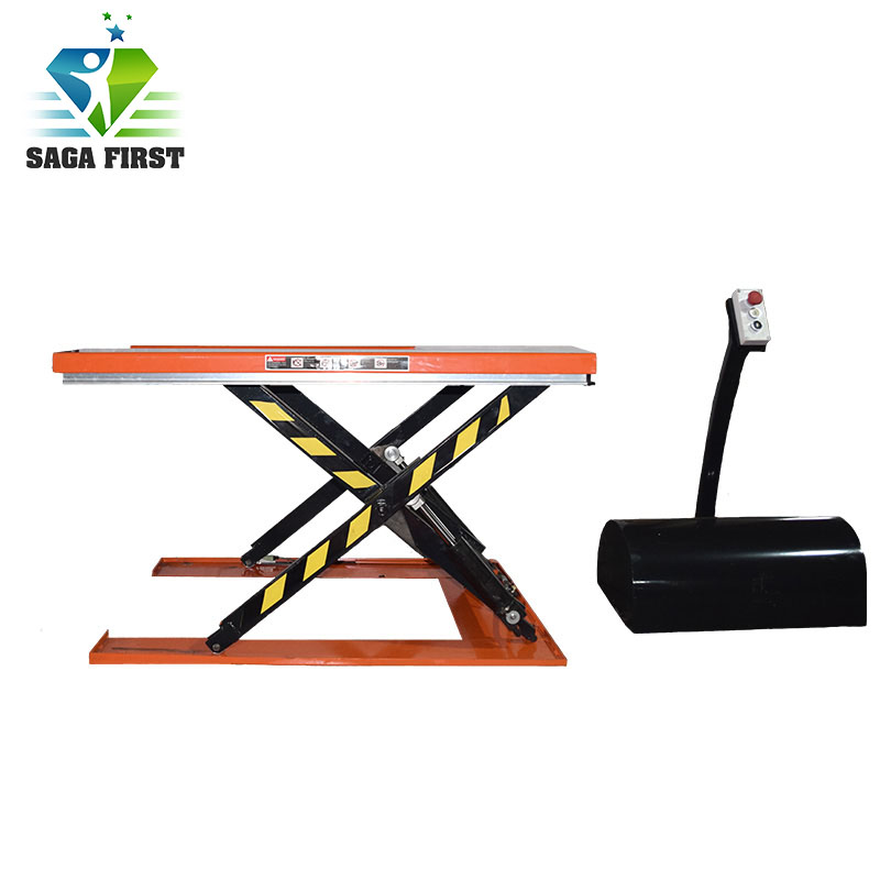 2018 SAGA FIRST 1.5ton Scissor Lift Table With U Shape Design