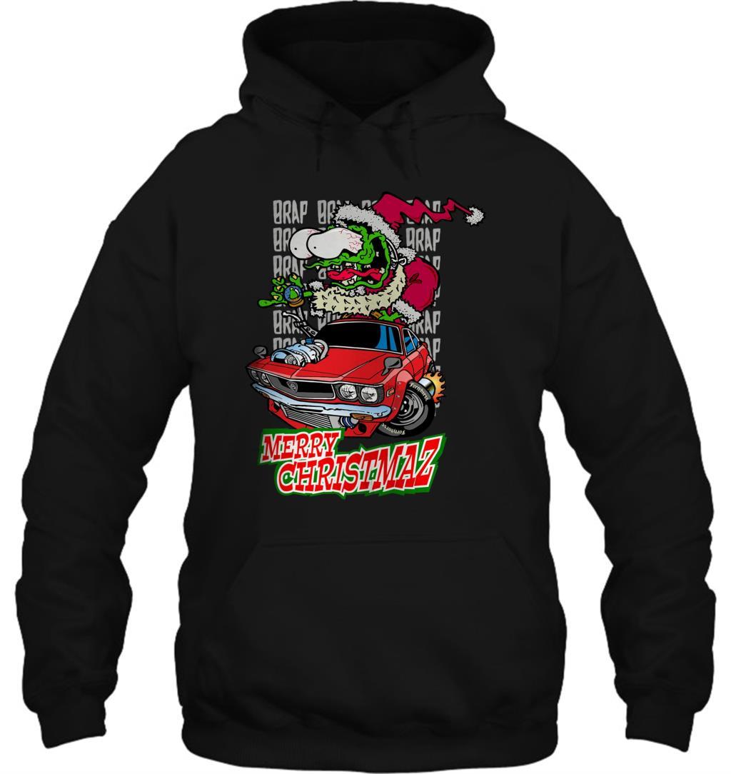 Christmas Car Shirt Mazda RX3 Men Women Streetwear Hoodies Sweatshirts