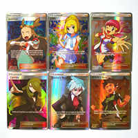 Takara-tomy 100 unids/set Pokemon Trainer juguetes Hobby coleccionables juego colección cartas de anime para niños regalo de Navidad