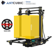 ANYCUBIC Chiron 3d Printer Large Build Volume With Automatic Level Ultrabase impressora 3d Modular Design impresora 3d drucker