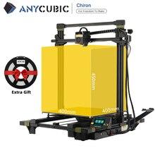 طابعة ANYCUBIC Chiron ثلاثية الأبعاد كبيرة الحجم مع مستوى تلقائي Ultrabase impressora ثلاثية الأبعاد تصميم نموذجي impresora ثلاثية الأبعاد drucker
