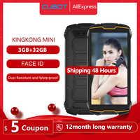 "Cubot KingKong MINI 4 ""QHD + 18:9 écran téléphone robuste étanche 2000mAh 4G LTE dual-sim 3GB + 32GB Android 9.0 caméra arrière 13MP"
