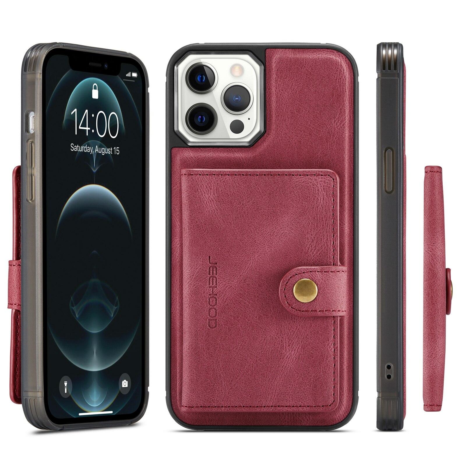 H5854c062679644639e38a034ac8f86f0r Capinha case Capa traseira para o iphone 12 11 pro max xs xr x se 2020 8 7 plus caso do telefone com suporte de cartão de couro magnético destacável carteira saco