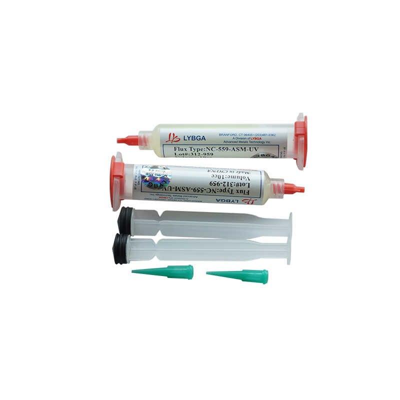 1pc LY 10cc NC-559-ASM-UV Flux pasta bezołowiowa pasta lutownicza flux z igłami tłok strzykawka miotacz BGA reballing zestawy