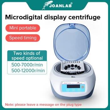 Pcr Micro Centrifuge Machine Digital High-speed Prp Centrifuge Lab 7000rpm 12000rpm 0.2/0.5/1.5/2ml Centrifuge Tube 110v To 220v 1