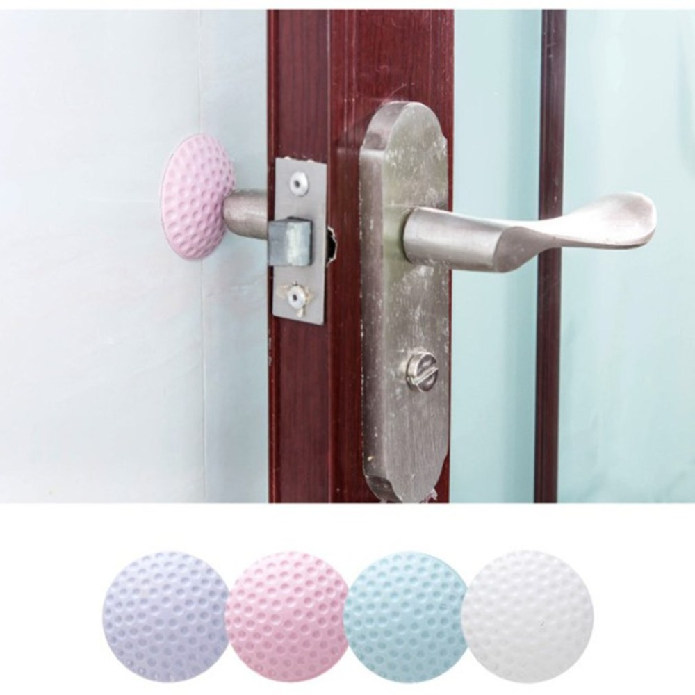 Door Handle Door Lock Silencer Protection Pad Rear Wall Crash Protactive Pad Dropshipping