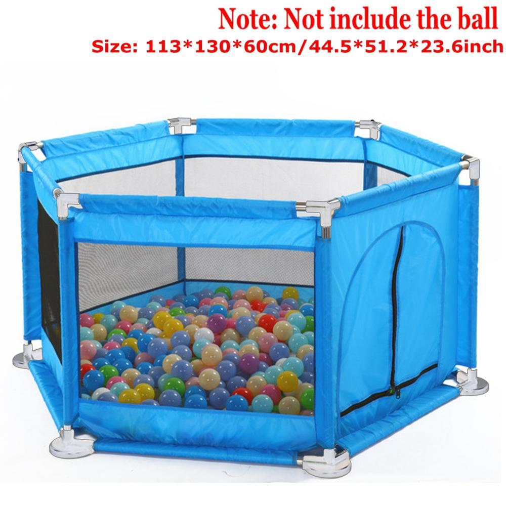 Baby Playpen for Baby Pool Playpen With Balls Kids Play Park Children's Homes Baby Playground Indoor Basketball Football Field