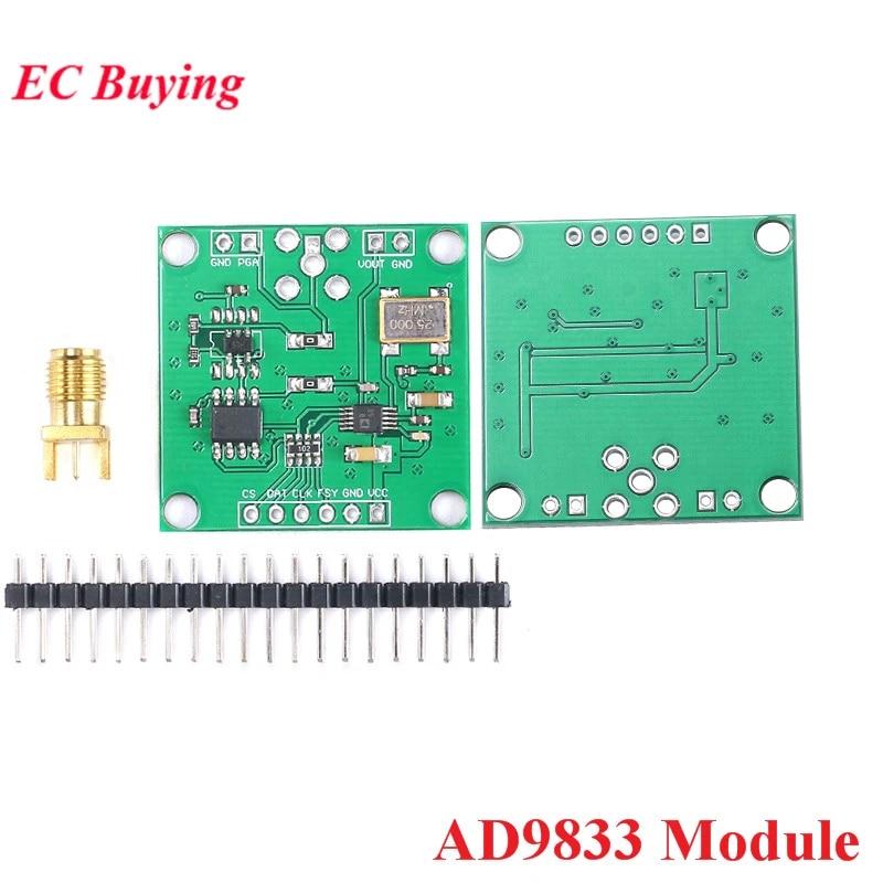 Ad9833 Dds Sinyal Generator Modul Dc 0 12 5mhz Spi Square Segitiga Gelombang Sinus Antarmuka Serial Programmable Frekuensi Dan Phase Sirkuit Terpadu Aliexpress