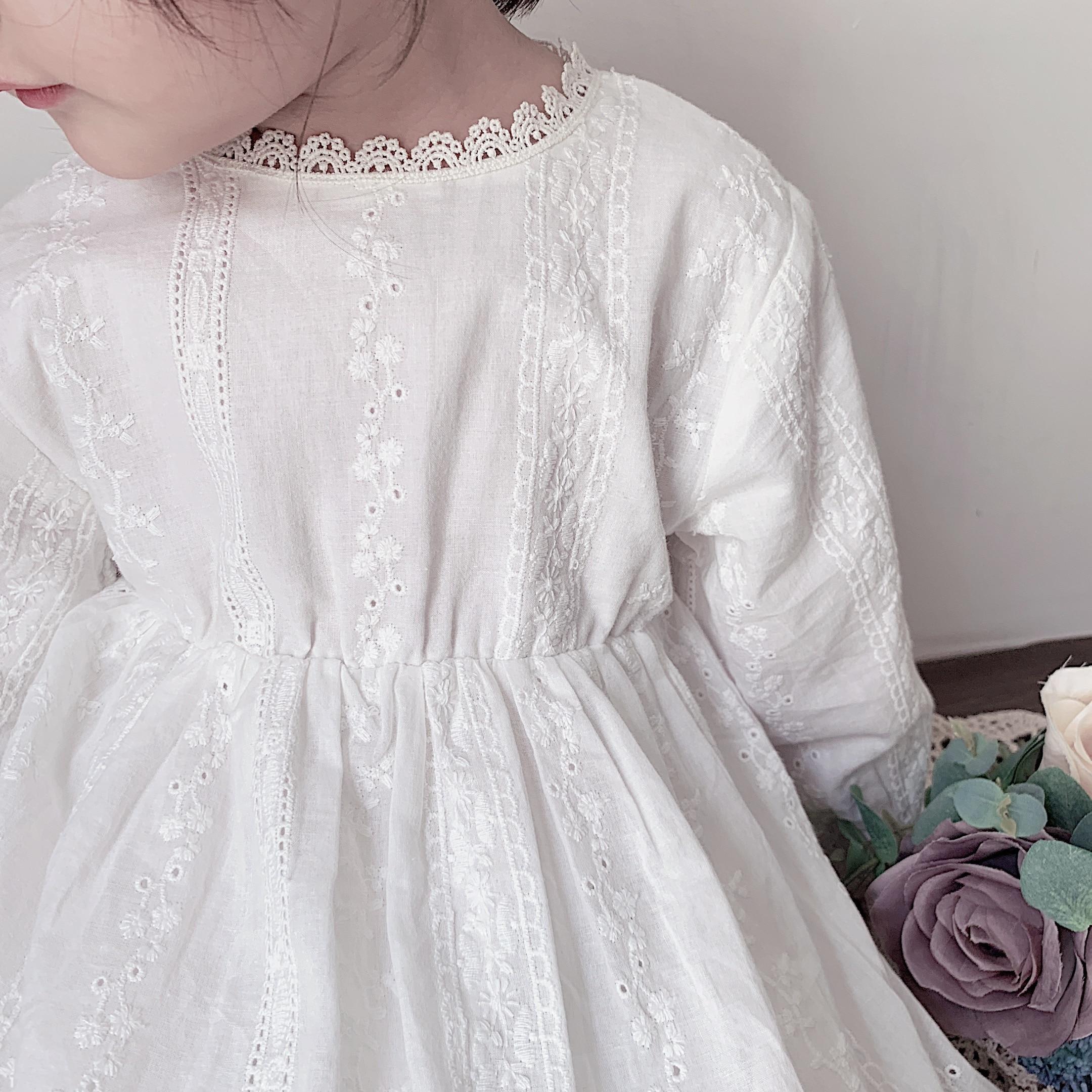 criancas para meninas princesa vestidos de outono 02
