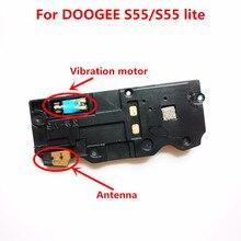 Altifalante original para doogee s55 alto falante com antena + vibração motor acessórios peças para doogee s55 lite telefone
