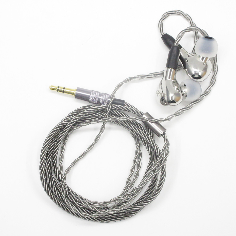 URBANFUN YBF-ISS014 10mm Beryllium Diaphragm Dynamic Driver In-Ear Metal Earphone IEM With Detachable MMCX Cable