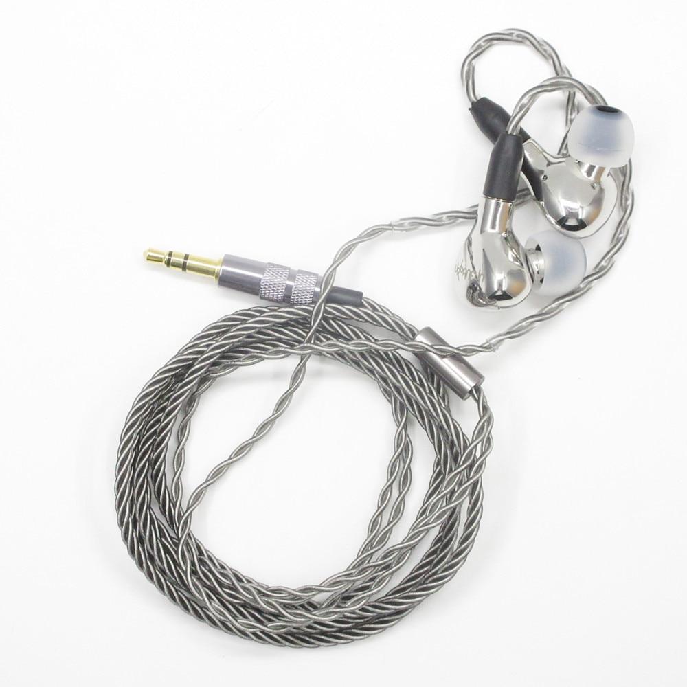 URBANFUN YBF-ISS014 10mm Beryllium Diaphragm Dynamic Driver In-Ear Metal Earphone IEM With Detachable MMCX Cable