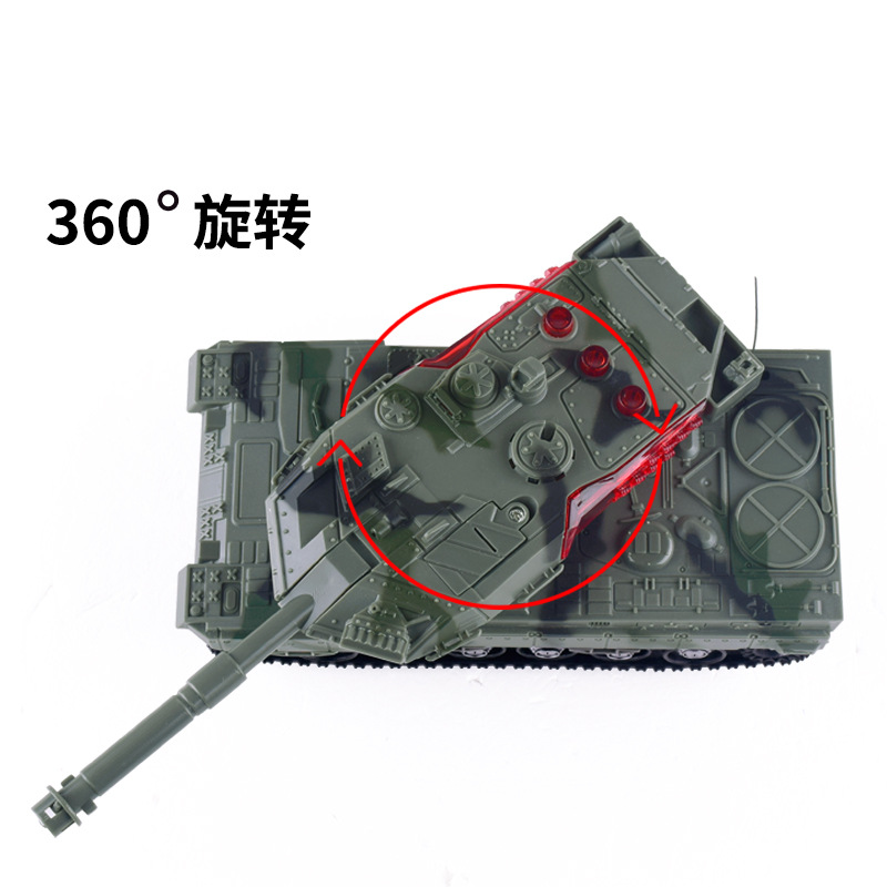 Children Rechargeable Remote Control Tank Stone New Style Story Remote Control Car Model Plastic Model Electric Toys Car