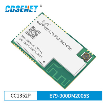CC1352P SMD IoT Transceiver Module 868MHz 915MHz 2.4GHz E79-900DM2005S PA ARM IoT Transmitter and Receiver 3pcs iot ibeacon biuetooth 4 0 wateproof iow energy kit beacon biuetooth moduie receiver proximity device with battery