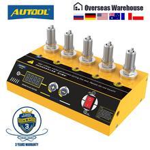 AUTOOL جهاز اختبار شمعة الإشعال ، أداة تشخيص السيارات ، الفتحة المزدوجة ، 220 فولت ، SPT360
