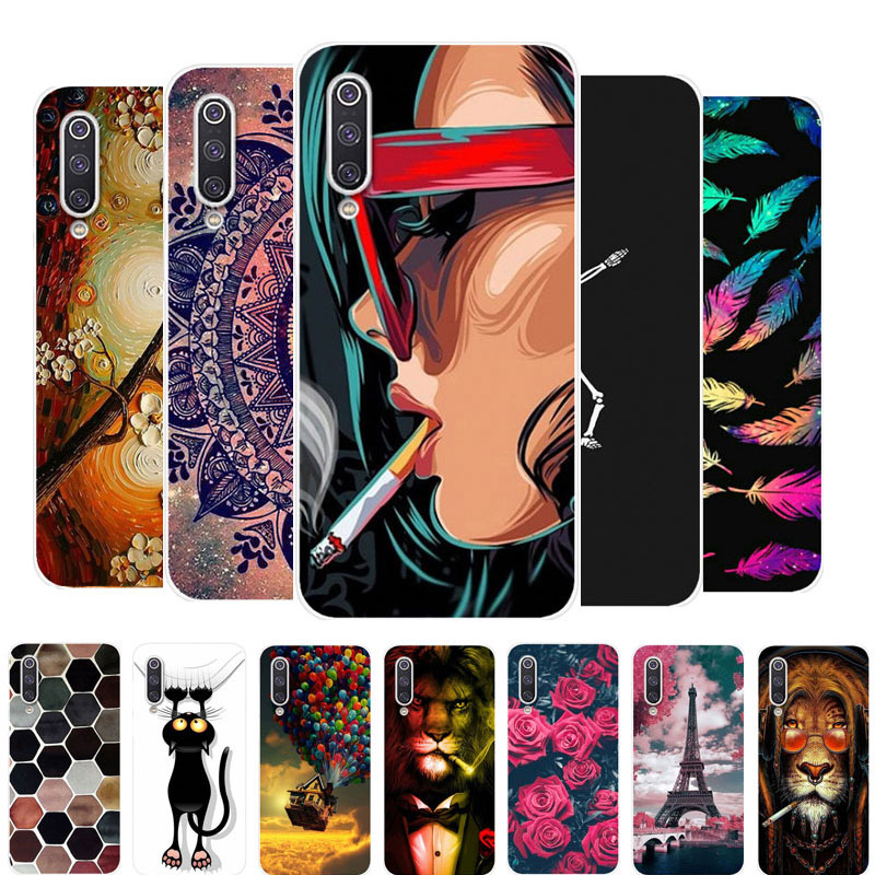 Case For Xiaomi Mi A3 Phone Case Silicone Soft Back Cover For Xiaomi Redmi Note 9S Case Redmi 9 TPU Coque For Xiaomi Mi 10 Pro