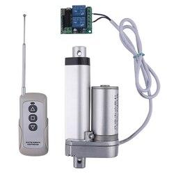 RF afstandsbediening Elektrische Lineaire actuator 12V metal gear kan stoppen elke tijd lineaire motor beroerte 50mm 100mm 150mm 200mm 250
