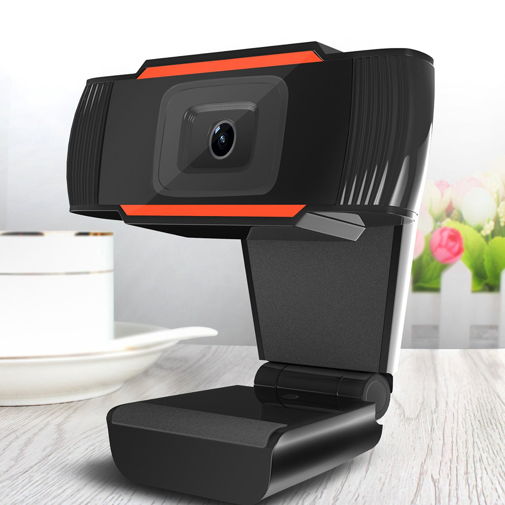 New 30 degrees rotatable 2 0 HD Webcam 1080p USB Camera Video Recording Web  Camera with Microphone