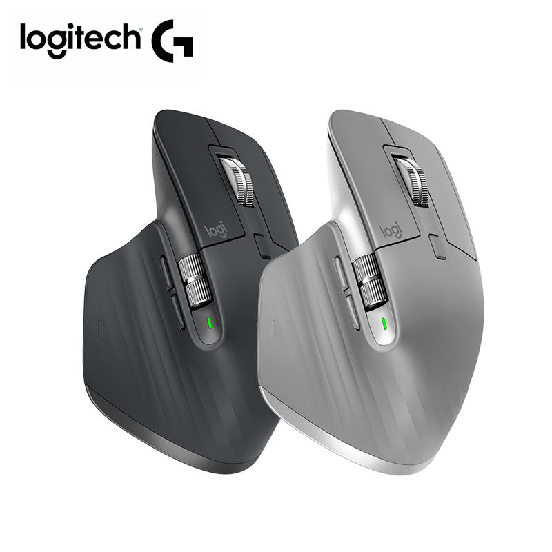 Logitech MX MASTER <font><b>3</b></font> Bluetooth Mouse Wireless 2.4GHz nano BT Flow Tech Mx master 2s upgrade for laptop pc home office mouse image