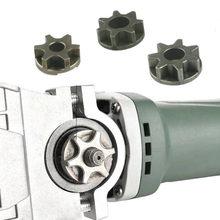 M10/M14/M16 tronçonneuse 100 115 125 150 180 meuleuse d'angle engrenage de rechange scie pignon roue de chaîne pour support de tronçonneuse