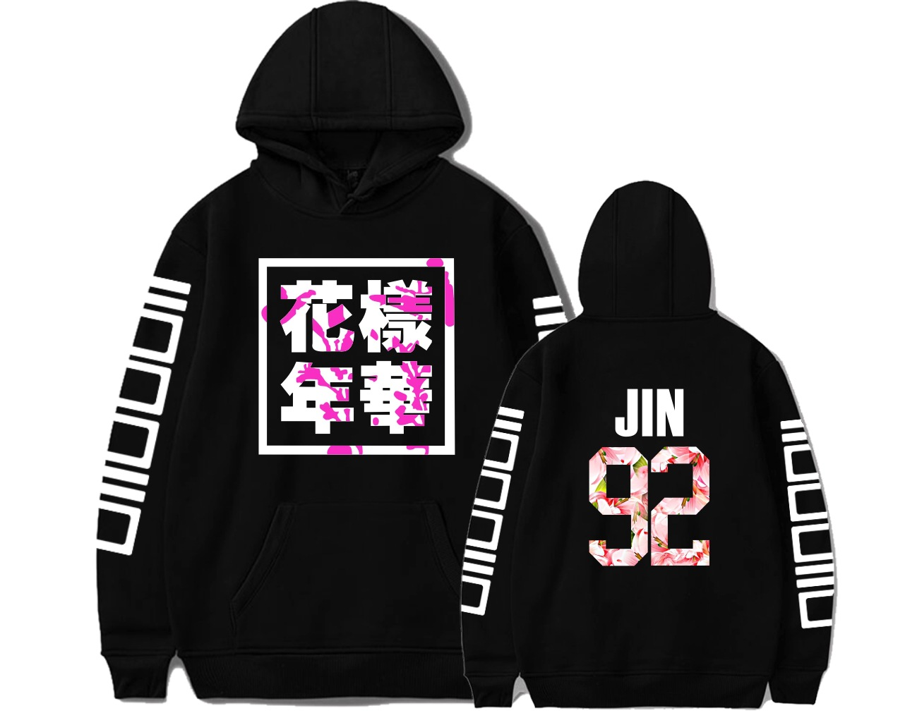 BTS Bulletproof Boys The Mood For Love Related Products Celebrity Style Loose Women Men And Women Hoodie COUPLE'S Should Aid The
