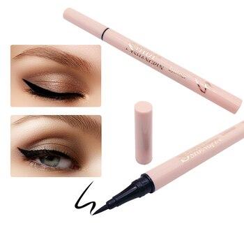 1 Pcs Black Eyeliner Long Lasting Eye Pencil Waterproof Eyeliner Makeup Liquid Cosmetics Drawing Eyeliner Easy to Apply tools