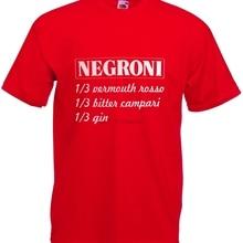 Vintage Ricetta Negroni Gin Campari amargo