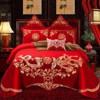 Dragon and phoenix Luxury Bedding Set High Quality New Style Romantic Comforter Cover Set Home Textile of Bedding Cover Suit