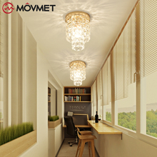 Modern Crystal LED Ceiling Light For Living Room Bedroom lamparas de techo Surface Mounting Ceiling Lamp For Bedroom Dining Room new style modern baby kids room led ceiling light for living room children bedroom decor lighting lampara de techo free shipping