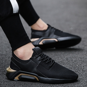 2019 Summer New Mesh Breathable Shoes Lightweight Shock Absorption Balance Sports Men's Shoes