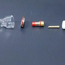 Pyrex стекло чашки Tig фонарь комплект для WP TIG 17/18/26