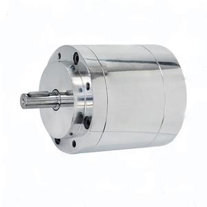 Image 3 - QMY0.3 Bade hava motoru yüksek hızlı patlamaya dayanıklı pnömatik Motor küçük endüstriyel kademesiz hız ayarı pozitif inversiyon