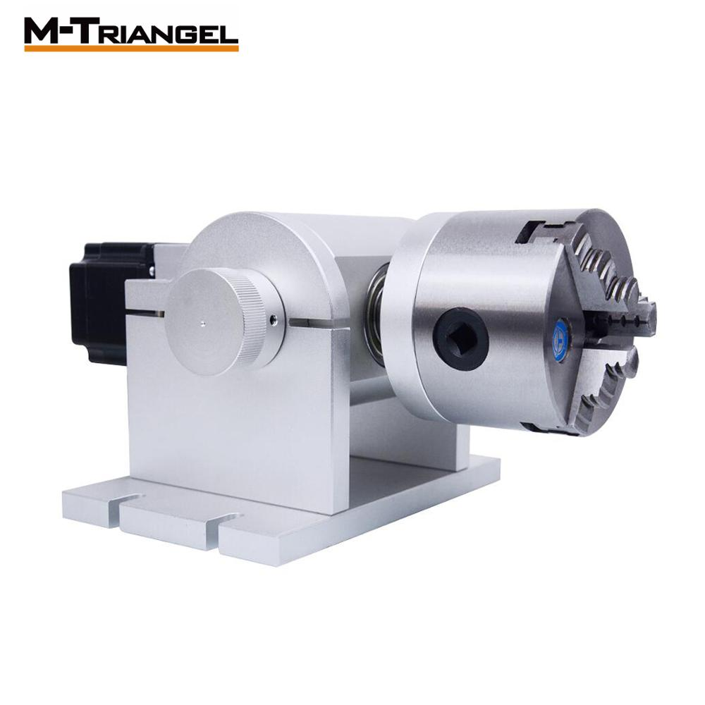 Rotary Axis For Laser Marking Laser Fiber Machine Spare Parts Fixture Rotary Axis 20W/30W/50W Fiber Laser Machine