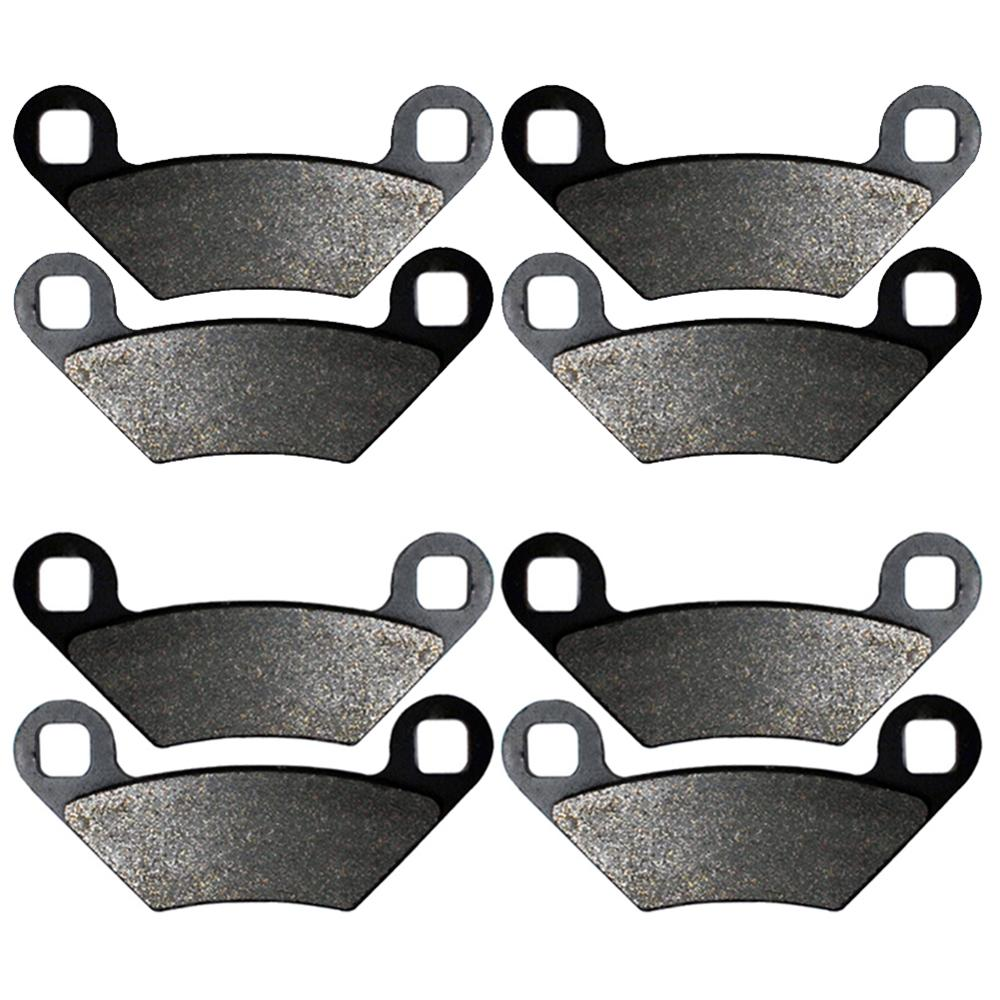 2010 2011 2012 2013 Polaris 550 Sportsman XP Touring EPS Front /& Rear Brake Pads