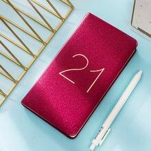 Agenda A6 2021, planificateur hebdomadaire, Journal intime, carnet de voyage, cahier de voyage, 48K