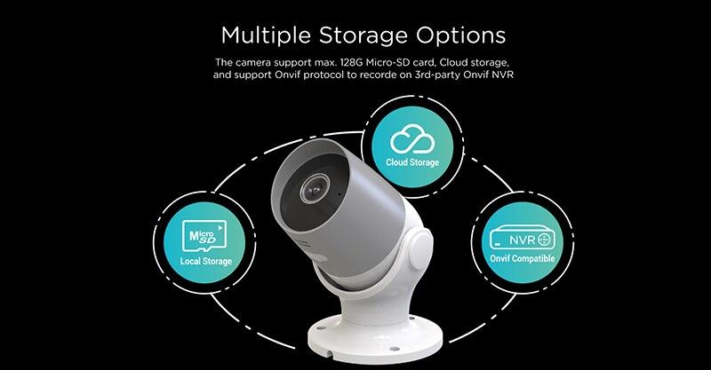 Tuya wifi câmera 1080 p apoio google