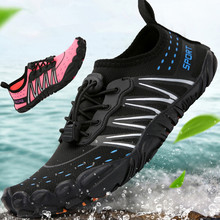 Sports-Shoes Upstream Non-Slip Quick-Dry Water Beach Breathable Men Wearproof Wading