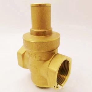 Image 4 - DN15/20/25/32真鍮水減圧バルブレギュレータmayitr維持調整可能なリリーフバルブゲージ計