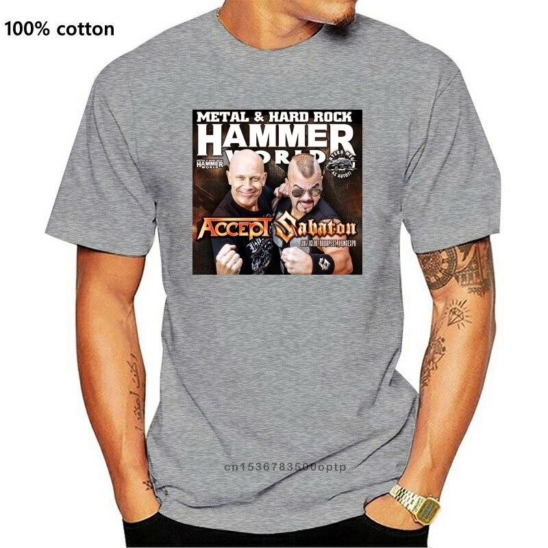 Camiseta 2020 aceite sabaton hammer world tour S-5XL