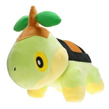 NEW 30cm Turtwig anime Plush Doll Figure Soft Grass seedling Turtle Animal Stuffed Toys X'mas Gift  toys for children 30cm height limited edition eevee luma anime new plush doll for fans collection toy celebi