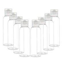 Garrafa plástica vazia cosmética do curso do clamshell da garrafa 3/5/10 pces garrafa 10ml/30ml/50ml/60ml/100ml da loção