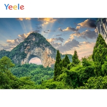 Yeele Mountain Forest Green Screen Natural Scenery Photography Backgrounds Custom Photographic Backdrop For Photo Studio Props