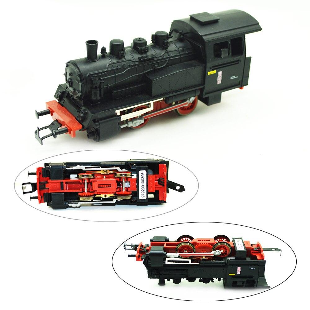 Model Train Toy 1/87 German Initial European Steam Locomotive Premium Gift Sand Table Landscape Scene Making Collection