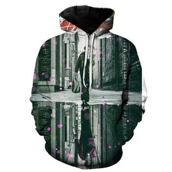 joker costume 2019 Sweatshirts Men Brand Hoodies Men 3D Printing Hoodie Male Casual Tracksuits Size S-6XL Wholesale and retail 10