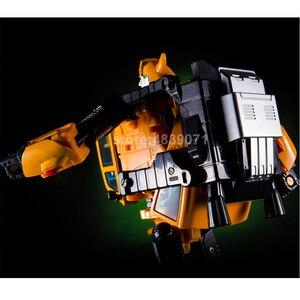 Image 3 - KBB דגם פעולה איור צעצועי MP21 MP 21 G1 מוגדל סגסוגת דבורת צרעה KBB עיוות שינוי
