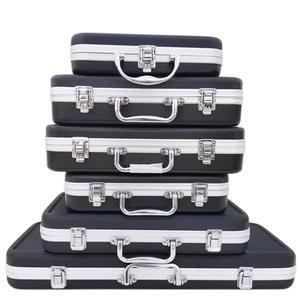 Toolbox Suitcase Storage-Box Sponge-Lining Safety-Instrument Plastic Aluminum-Alloy Portable