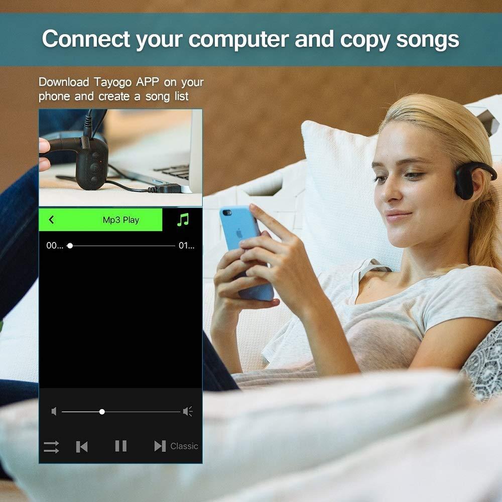 Jogador impermeável 8 gb da música do