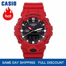 Casio izle erkek G SHOCK üst marka lüks 200M su geçirmez spor kuvars saati Çift LED ışık Relogio dijital G Shock askeri erkekler izle ince kompakt büyük tasarım kümesini saatler dalış kol saati masculino reloj hombre