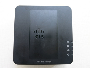 Original Voice Gateway SPA122 ATA With Router VoIP Phone Adapter