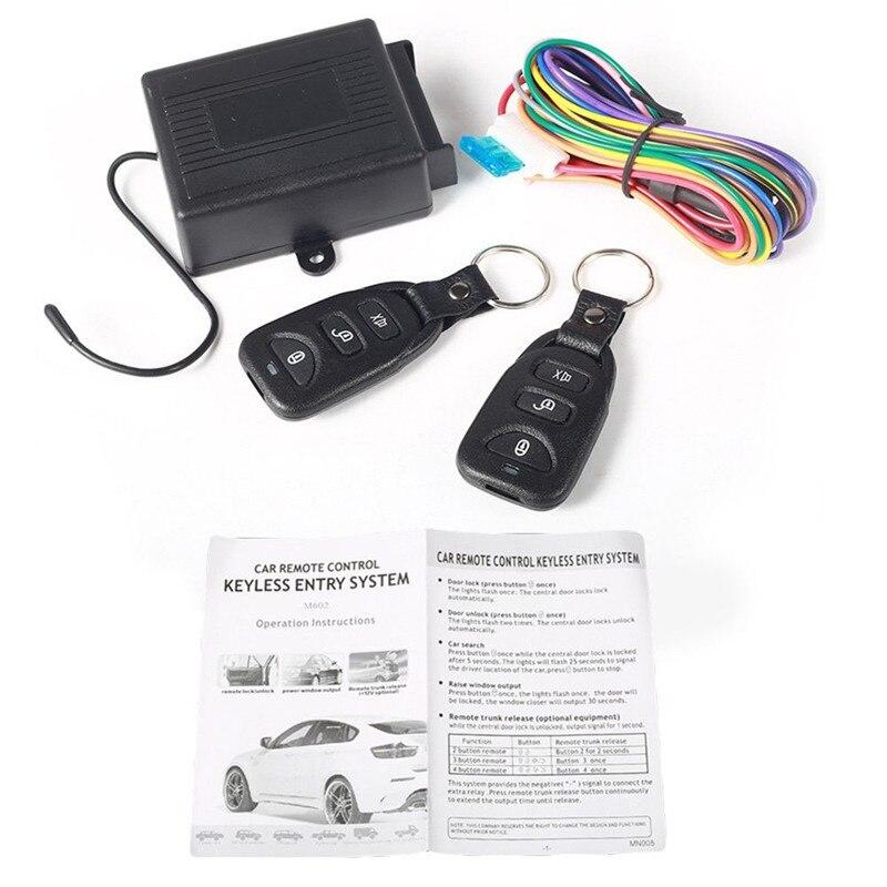 433Mhz control remoto Universal bloqueo central interruptor de Control remoto inalámbrico cc 12V coche antirrobo montado en el coche Cargador USB para coche de carga rápida 3,0 4,0 Universal 18W carga rápida en coche 3 puertos cargador de teléfono móvil para samsung s10 iphone 11 7